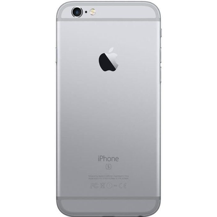 SMARTPHONE iPhone 6s 128 Go Gris Sideral Occasion - Comme Neu