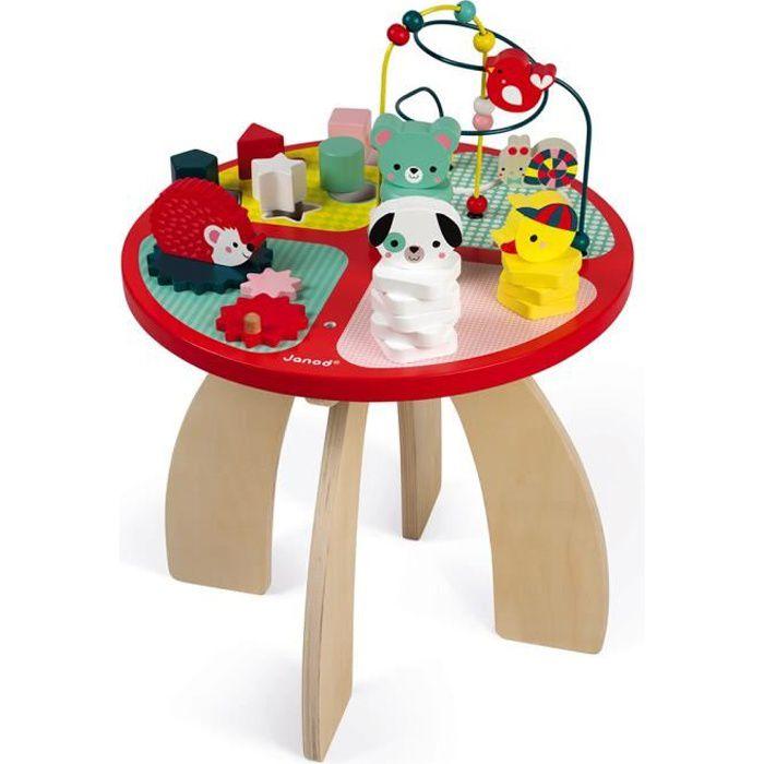 TABLE JOUET D'ACTIVITÉ Table d'activités Baby Forest (bois)