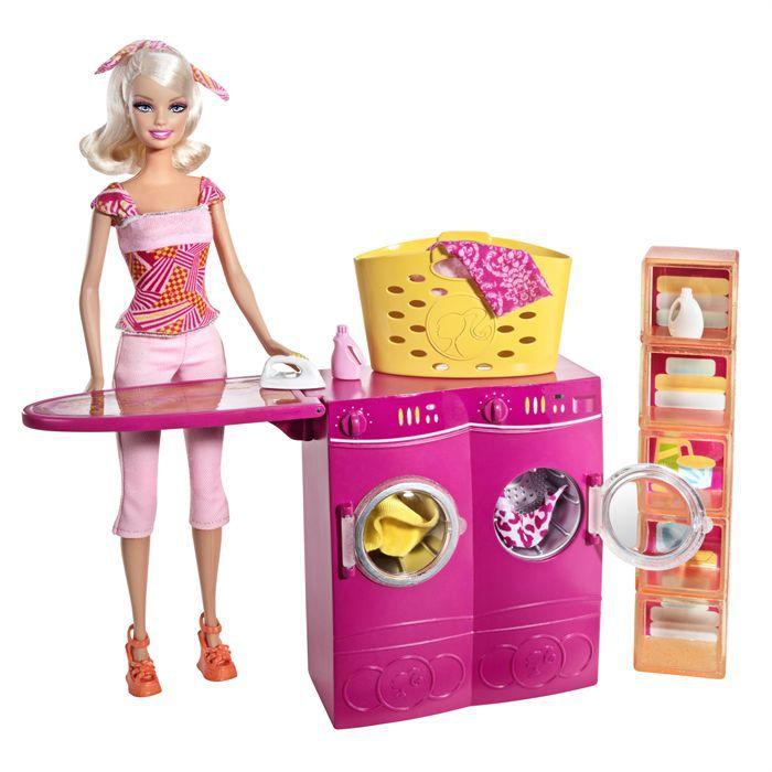 Barbie mobilier de poup e blanchisserie achat - Le chat de barbie ...