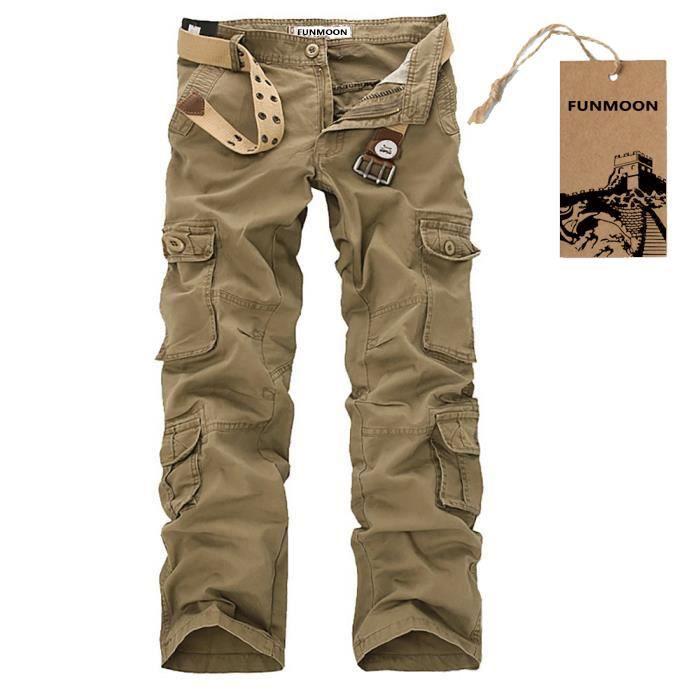 7099c2a4e503 Pantalon multi poches - Achat   Vente pas cher