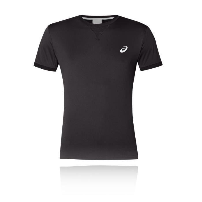 5d182584d554d Asics Hommes T-Shirt À Manche Courte Gym Tennis Sports Respirable ...