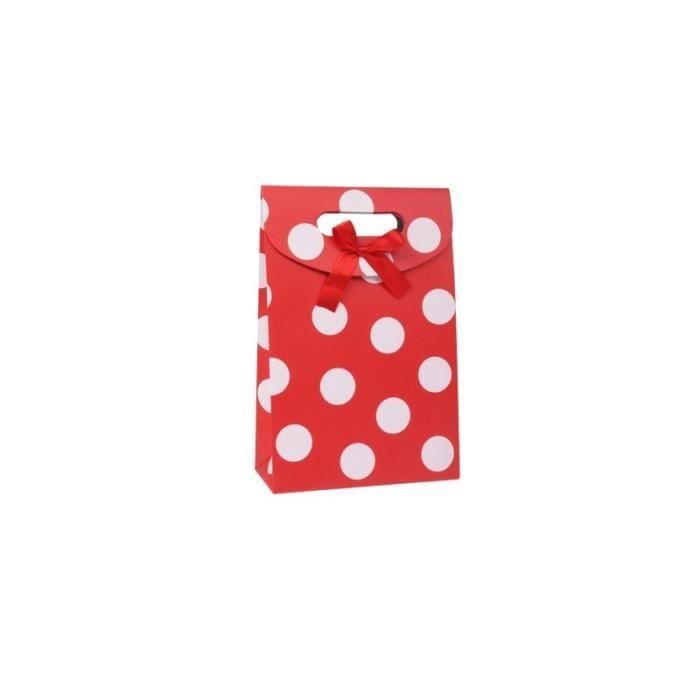 PAPIER CADEAU Paquet de papier-cadeau cadeau modèle Polka Dot ro