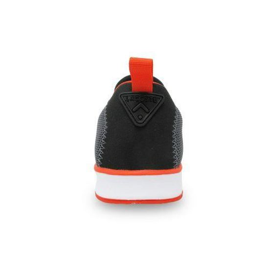 16f1ceae81a2 LACOSTE - Chaussure homme Lacoste Light 317 1 Spm - (noir - 45) Noir Noir -  Achat   Vente basket - Cdiscount