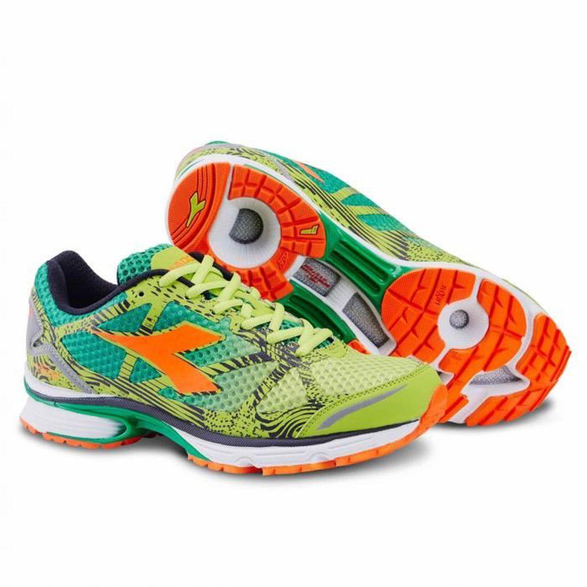 N Sh170097 Prix 3 6100 Green Light Diadora Chaussures Running De tHqTBT