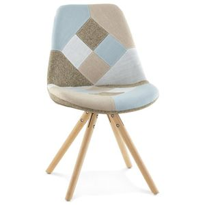 CHAISE Chaise design 'ARTIST' style patchwork