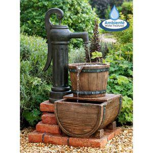 Puit de decoration achat vente puit de decoration pas for Pompe fontaine exterieur