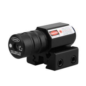 f97015db64bf6a TÉLESCOPE OPTIQUE Lunette de Visée Laser Rouge + Monture 11 et 20mm