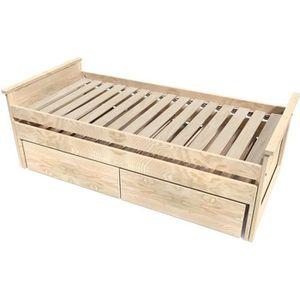 lit gigogne bois massif achat vente lit gigogne bois massif pas cher cdiscount. Black Bedroom Furniture Sets. Home Design Ideas