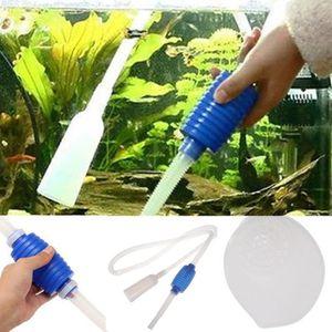 POMPE À VIDE Siphon Pompe à vide eau Gravel Cleaner Filtre Aqua