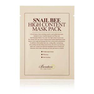 MASCARA Mascarilla Facial Hidratante - Snail Bee High Cont