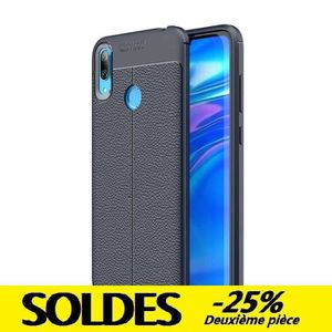 coque huawei y7 pro 2019 silicone rouge