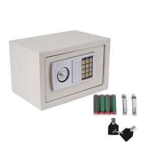 COFFRE FORT 31x20x20cm Coffre-fort Serrure électronique de mén