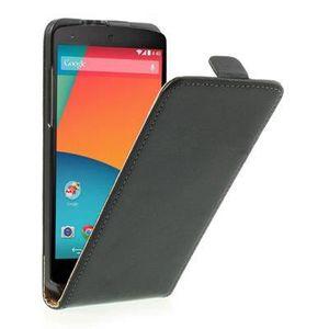HOUSSE - ÉTUI Etui Mat Noir LG Nexus 5