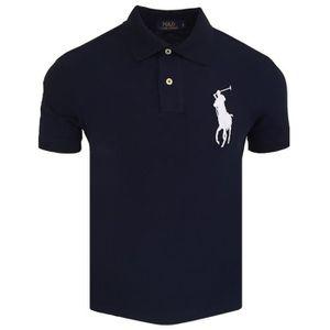 wholesale dealer dbb5f a471b POLO Polo Ralph Lauren Big Pony Polo slim fit bleu et B ...