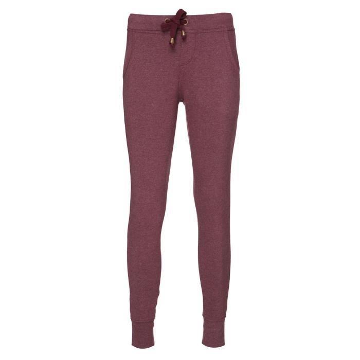 O'NEILL Pantalon de Jogging Jack Base - Femme - Fig rouge