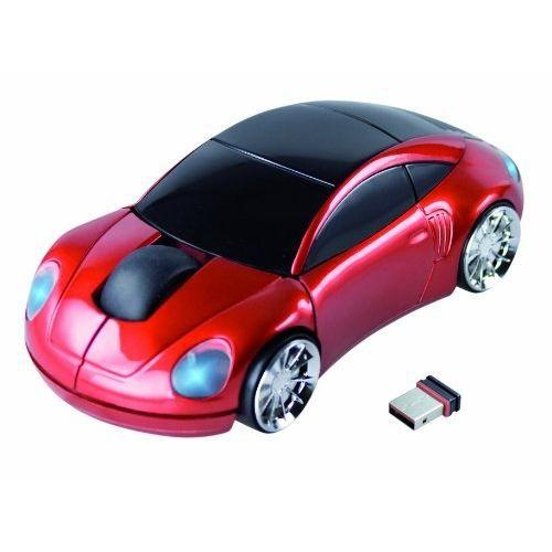 Cette souris optique sans fil ravira les enfants autant que les amateurs de voitures - Maniabilité - Confort.SOURIS