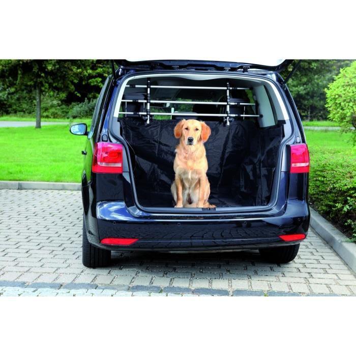 TRIXIE Protège coffre voiture 2,30 × 1,70 m noir pour chien