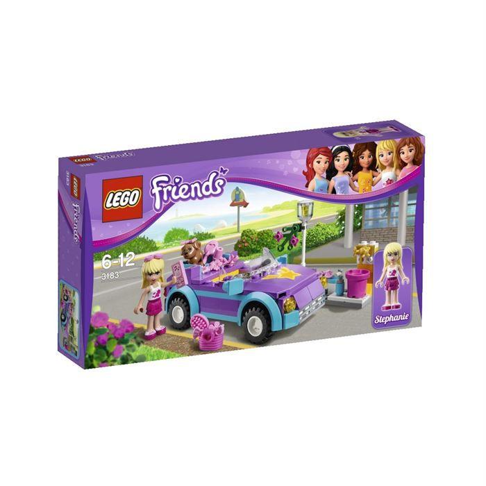 Construction Lego Assemblage Vente Le Friends Achat Cabriolet KJT13ulcF