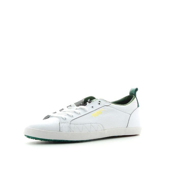 Slim Achat Puma Mode Chaussures Vente Court Basket Blanc ZuikOPX