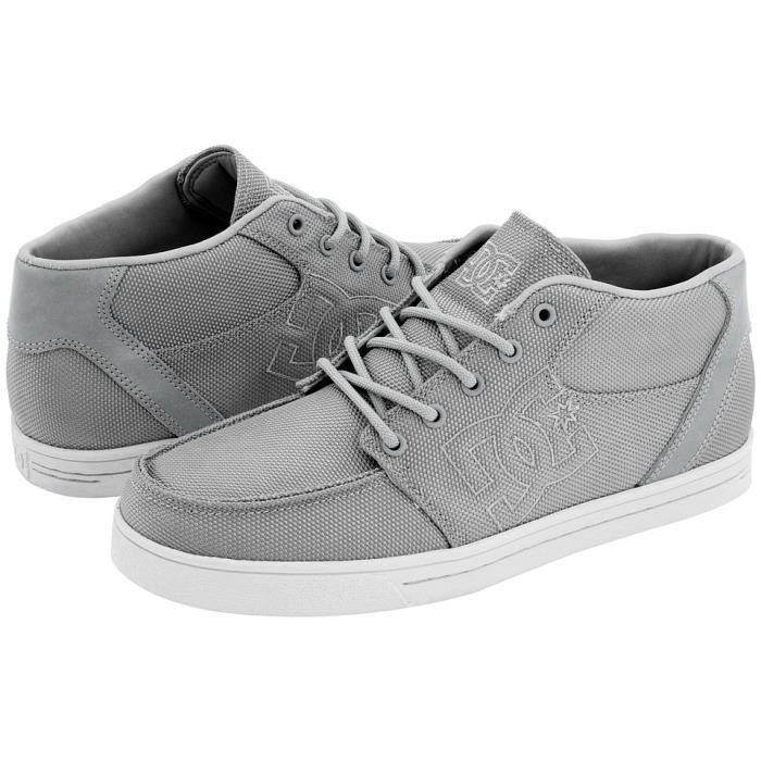 BASKET DC SHOES RELAX TOILE GRIS