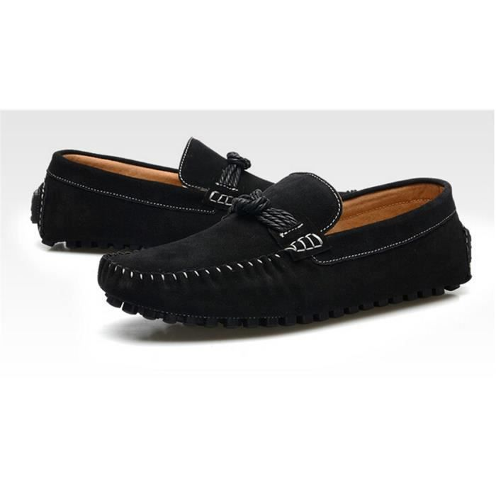 MOCASSIN Cuir Homme mocassin chaussures business formel noi