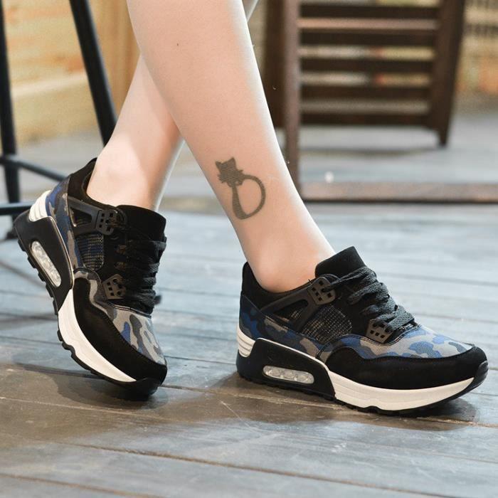Femmes Air chaussures Mesh respirant de course filles dames confortable