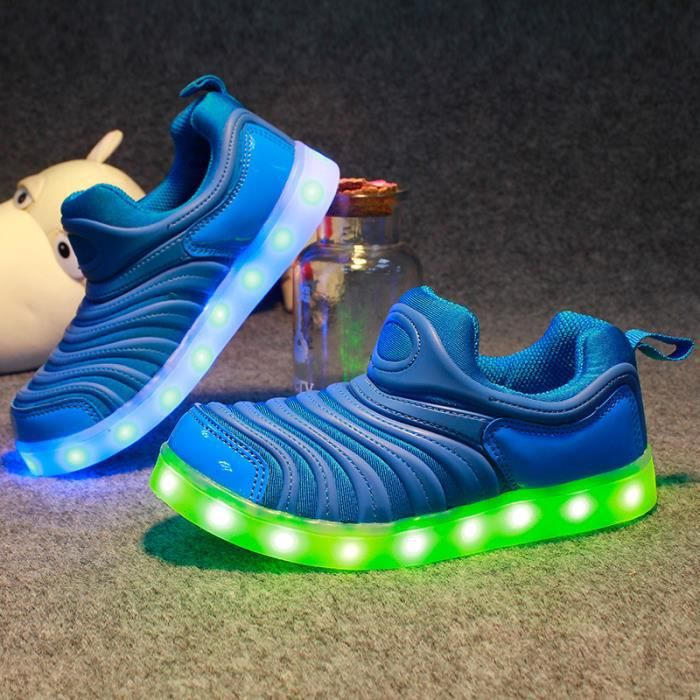 nouveaux chaussures LED pour Enfants support US...