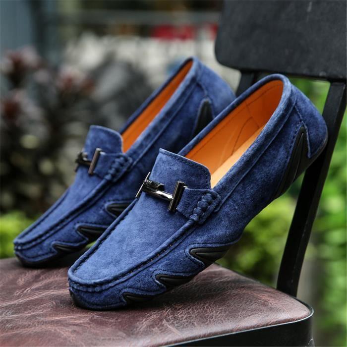 Homme Derbies Qualité SupéRieure Cuir Chaussure Cool Confortable Chaussure AntidéRapant Nouvelle arrivee 38-44 FNCuCyqV