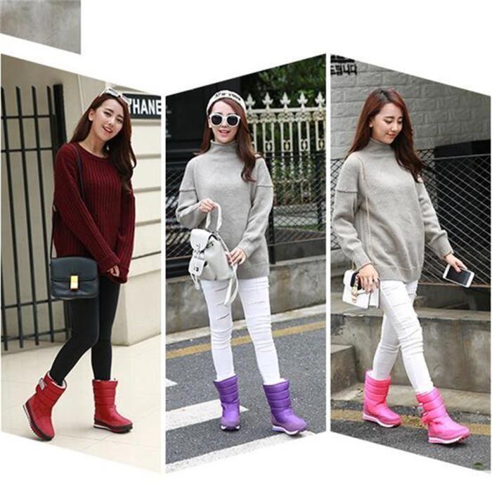 Femme Chaussures Marque De Luxe ete Durable Qualité Supérieure Botte Femmes Nouvelle arrivee De Talons hauts Grande Plus Taille