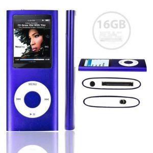 LECTEUR MP4  ANTCOOL®16GB LECTEUR MP3 MP4 STYLE IPOD 16GO - Vi