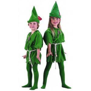 Livre 3-6 ANS Enfants Lost Boy vert Fairytale Pixie Fancy Dress