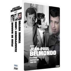 DVD FILM DVD - Jean-Paul Belmondo - Coffret 3 films : Peau