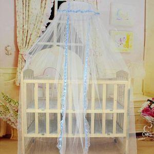 MOUSTIQUAIRE LIT BÉBÉ bébé lit moustiquaire dôme Mesh Rideau pour tout-p
