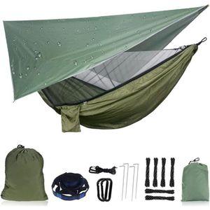 HAMAC Hamac de Camping avec Moustiquaire 200kg Capacité
