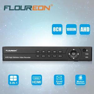 LECTEUR DVD FLOUREON DVR Enregistreur Numérique AHD 8CH 1080P