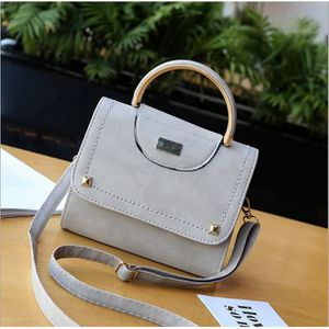 SAC À MAIN m149-1 Small square bag personality solid color wo