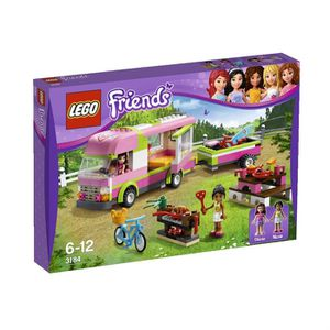ASSEMBLAGE CONSTRUCTION Lego Friends Le Camping-car