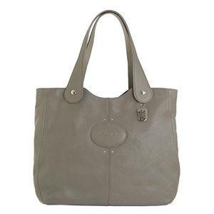 3babeafc5f59c LONGCHAMP - sac femme porté épaule en cuir - TAUPE QUADRI - Achat ...