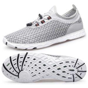 BASKET Chaussures de Plage Chaussures Aquatiques Femme Pl