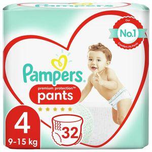 COUCHE PAMPERS Premium Active Fit Pants Taille 4 - De 8 à