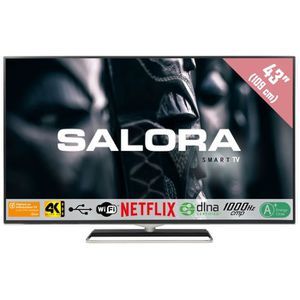 Téléviseur LED Salora 43UHX4500, 109,2 cm (43