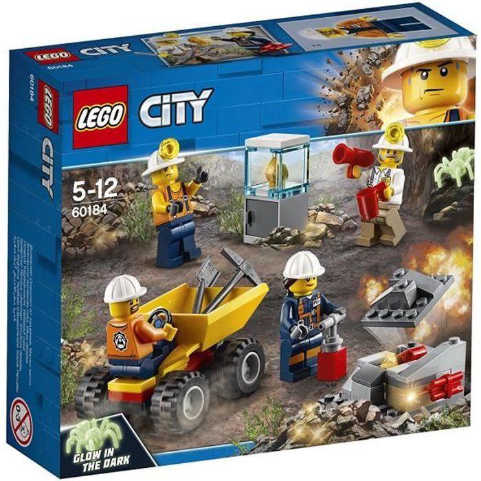 LEGO® City 60184 L'équipe minière