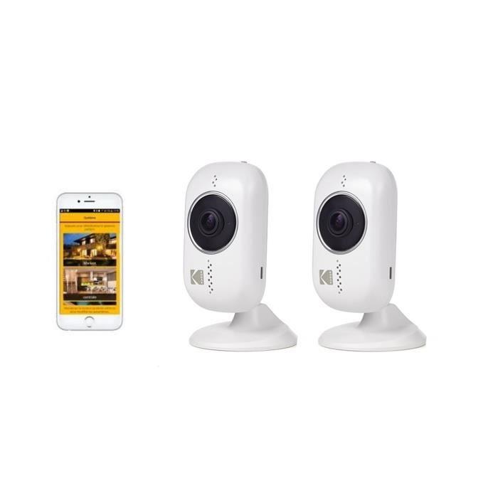 KODAK Pack 2 Caméras intérieures Full HD IF101W