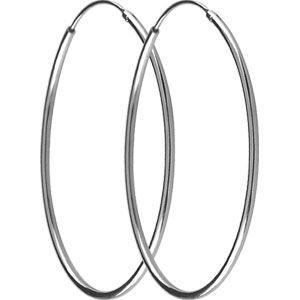 Boucle d'oreille Boucles d'oreilles créoles argent 925/1000e (45 mm