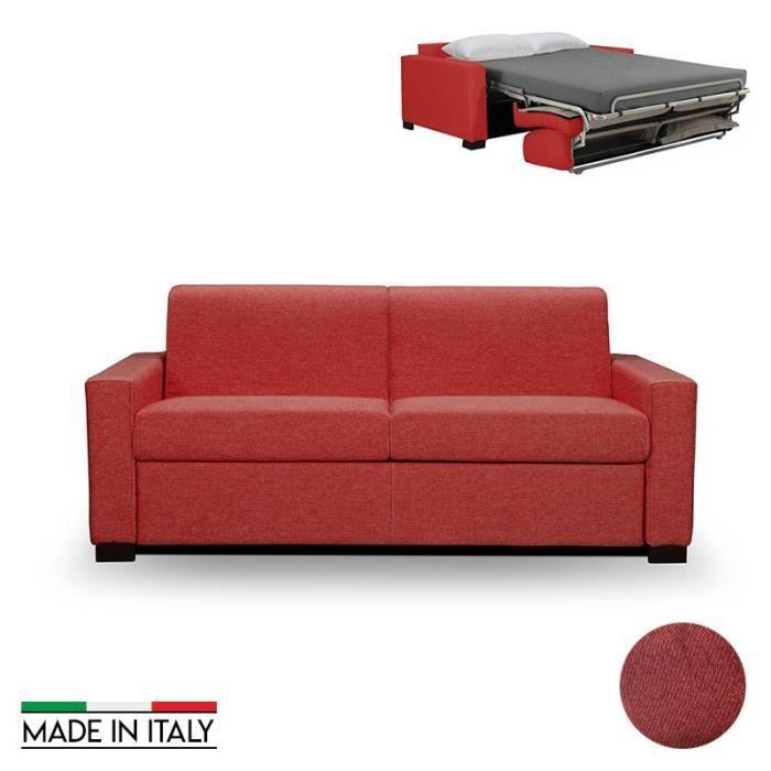 12cm Rouge Matelas Rapido 140x190 Canapé Convertible Épaisseur 140cm Oxford clJFK1