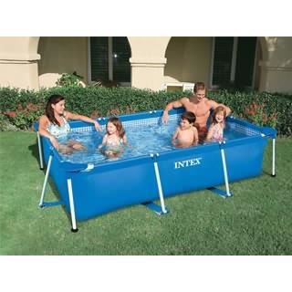 bache piscine metal frame junior