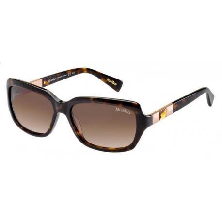 Achetez Lunettes de soleil Max Mara Femme MM HOLLY II 086 (H7) noire havane