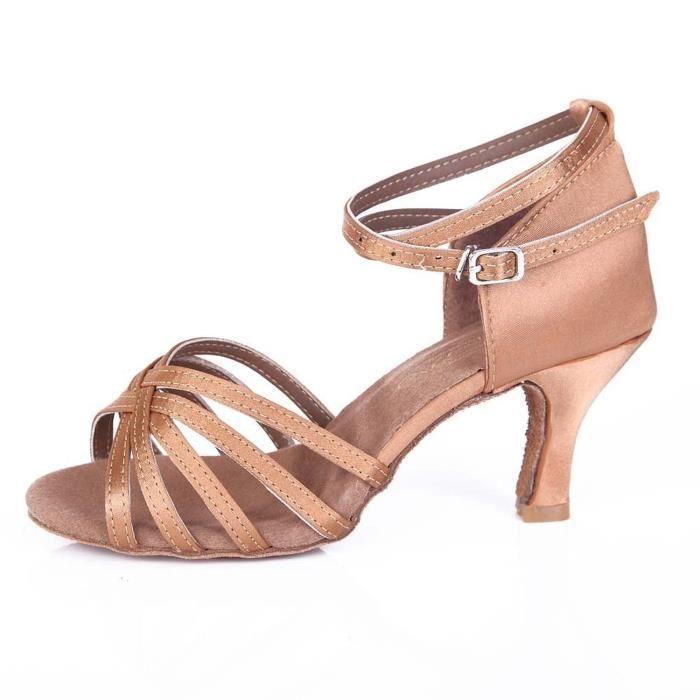 Danse Latine Chaussures Gris De 802 3ARqj54L