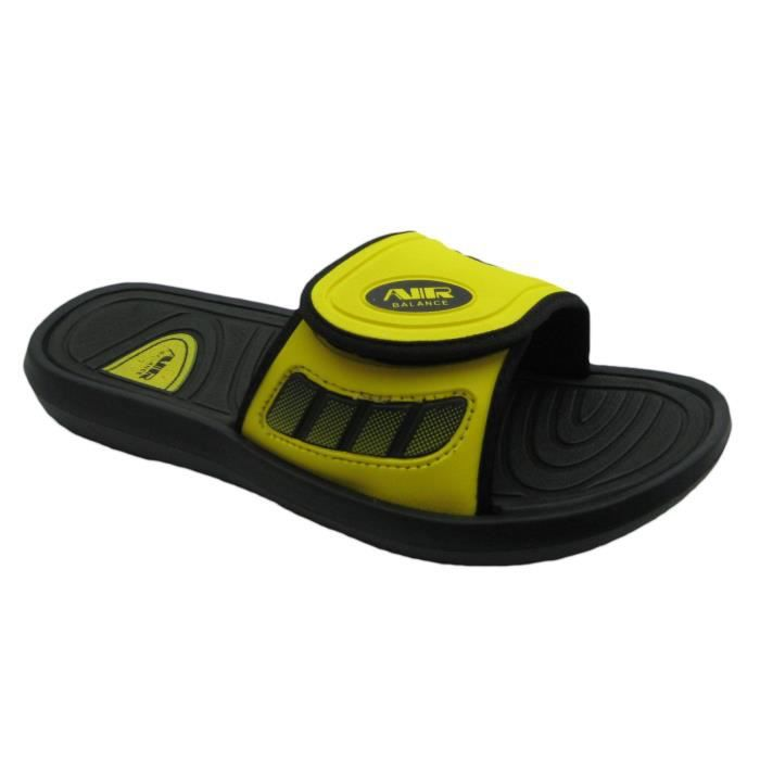 Air Men's Comfortable Shower Beach Sandal Slippers W-adjustable Strap In Classy Colors SV374 Taille-40 1-2