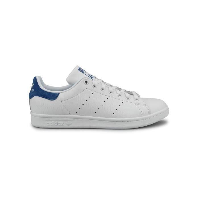 Baskets Adidas Originals Stan Smith Blanc Bleu